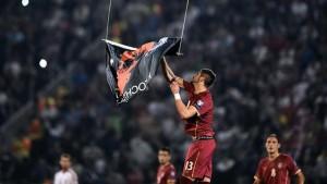 -Albania, câştigătoare la masa verde a meciului din 14 octombrie cu Serbia