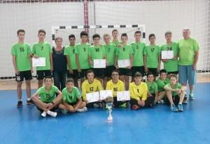 CS Blejoi a câștigat Trofeul Marian Dumitru la handbal juniori III