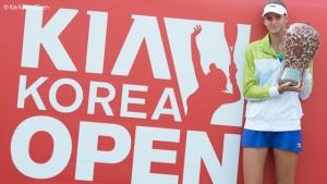 Irina-Camelia Begu a câştigat turneul de la Seul şi a obţinut al doilea titlu din carieră!