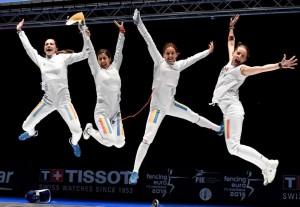 Echipa de spadă feminin a României a câştigat aurul în etapa de Cupă Mondială de la Buenos Aires!