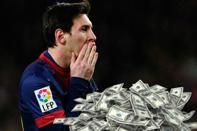 Messi, cel mai bine plătit fotbalist din lume în 2015!