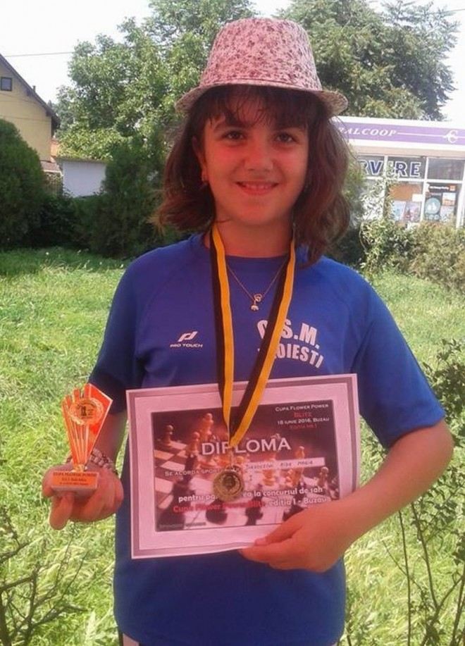 Aida Jurkovschi, medalie de aur la Buzău!