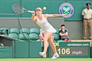 """Simona Halep s-a calificat în """"sferturi"""" la Wimbledon după o revenire incredibilă!"""