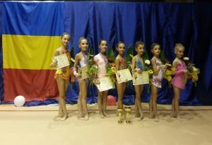 Gimnastele de la CSM Ploieşti, campioane naţionale la Prejunioare!