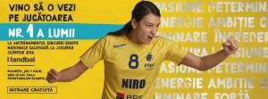 """Cristina Neagu şi colegele ei îi aşteaptă, joi, la """"Olimpia"""", pe toţi iubitorii handbalului!"""