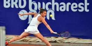 Simona Halep s-a calificat cu emoții în turul al doilea la BRD Bucharest Open!