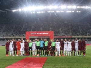 Supercupa României merge la Giurgiu, după un meci stricat de vreme