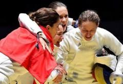Fetele de AUR ale României. Echipa de spadă este noua campioană la RIO 2016