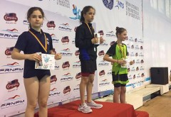 """CSM Ploieşti, opt medalii la """"Cupa Mărţişor"""" la înot"""