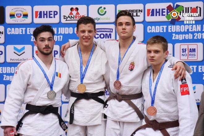 """Andrei Pîrloga, medalie de argint la Cupa Europeană de judo pentru cadeţi """"U18"""""""