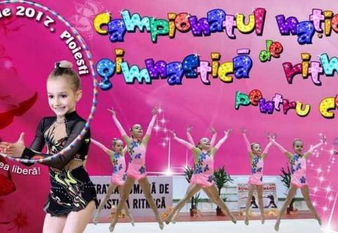 """Duminică, în Sala """"Olimpia"""", Campionatele Naţionale de Gimnastică Ritmică pentru copii!"""