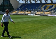 """Stadionul """"Ilie Oană"""", inspectat de UEFA"""