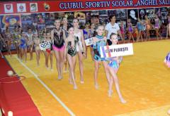 Gimnaste de aur, argint și bronz