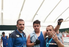 Un boxer ploieștean duce greul la Campionatul European