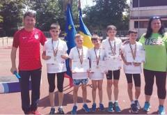 Triplă de aur pentru CSȘ Ploiești!