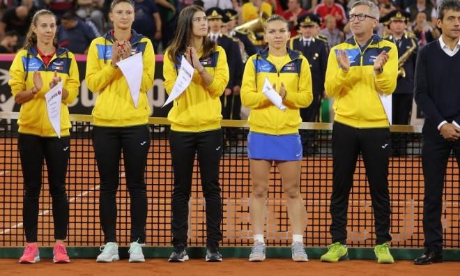 Romănia înfruntă specialista Fed Cup