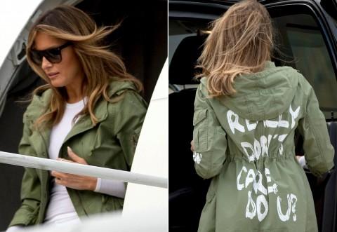 Aproape de o TRAGEDIE: Avionul Melaniei Trump s-a DEFECTAT, în zbor, și s-a întors pe aeroport! Prima Doamnă a fost salvată cu un prosop umed