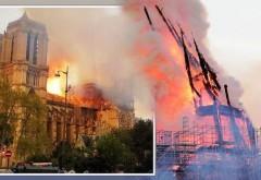Catedrala Notre Dame încă arde - Marea Cruce a rămas neatinsă de flăcări