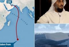 Un seic miliardar vrea sa tracteze un iceberg din Antarctica pana in Emiratele Arabe, pe o distanta de 8.800 kilometri