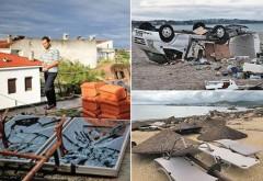 Furtuni violente în Europa. Inundații și alunecări de teren în Italia, Germania și Franța