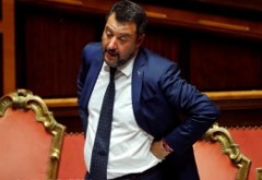 Iesire extremă în Italia - Un jurnalist îi cere lui Matteo Salvini să se sinucidă