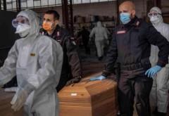 Culmea pandemiei de coronavirus în Italia. În primele trei luni din 2019 au murit MAI MULŢI oameni decât în aceeaşi perioadă din 2020