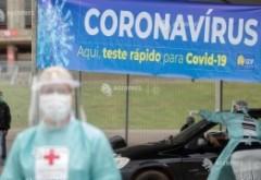 Brazilia trăiește un coșmar: Peste jumătate de milion de cazuri COVID-19. Casa Albă îi sare în ajutor