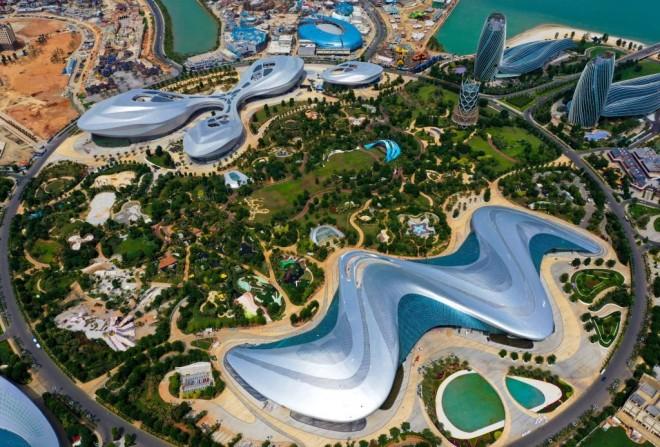 """""""Dubaiul Chinei"""", un proiect de zeci de miliarde de dolari. Cum arată cea mai mare insulă artificială, care urmează să fie inaugurată"""