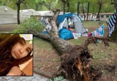 Două surori de 3 și 14 ani, ucise de un copac prăbușit peste cortul familiei, într-un camping