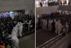 Haos pe aeroportul din Shanghai. Mii de oameni au fost testați după ce un angajat a fost depistat pozitiv cu Covid-19