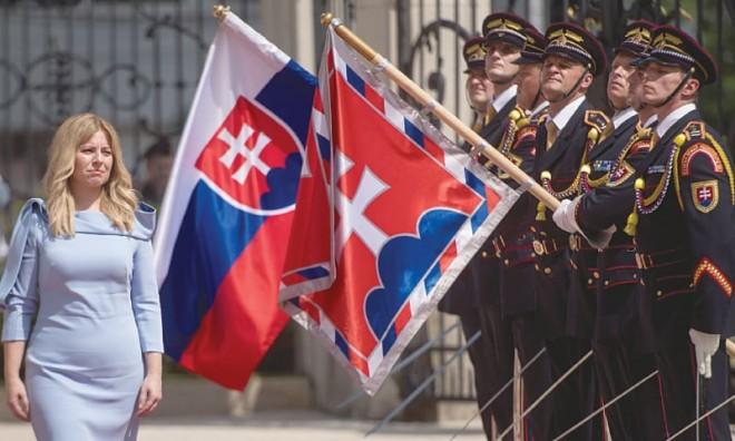 """Preşedinta Slovaciei, Zuzana Caputova: Soldații români și Armata Roșie au """"partea leului"""" din eliberarea Bratislavei"""