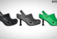 Balenciaga lansează papuci Crocs mai scumpi decât salariul mediu în România