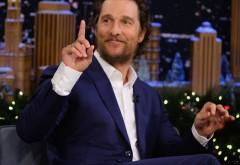 """Matthew McConaughey a dezvăluit că a fost abuzat de un bărbat: """"M-a lasat inconstient in spatele unei furgonete"""""""