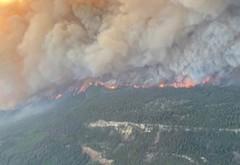 Orașul din Canada unde temperatura a ajuns la aproape 50 de grade a luat foc