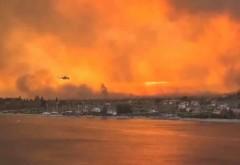 Un incendiu arde necontrolat de mai multe zile pe una dintre insulele preferate de romani. Sute de turiști și localnici au fost evacuați