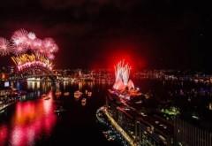 REVELION 2015. Spectacol impresionant la Sydney, focul de artificii a fost magnific FOTO şi VIDEO