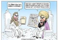 Un ziar australian a publicat un desen umoristic cu profetul Mahomed si a facut apel la sustinerea libertatii de exprimare in lume