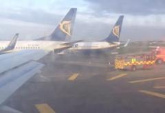 Două avioane s-au ciocnit pe un aeroport internaţional