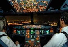 Piloţii unui avion de pasageri s-au luat la bătaie în cabină