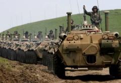 SUA poziţionează tancuri şi artilerie în România
