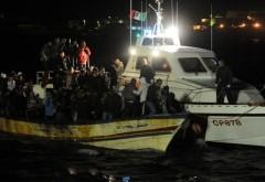 Paza de Coastă din Grecia a încercat să scufunde o barcă cu imigranți