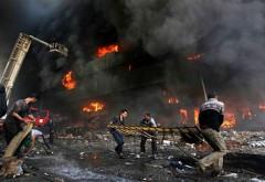 ATENTAT în Rusia: Trei atacatori sinucigaşi s-au aruncat în aer