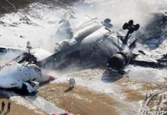 Un avion cargo turcesc s-a prabusit peste o zona rezidentiala din Kirghizstan: Cel putin 32 morti