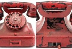 Telefonul roşu cu care Hitler a OMORÂT MILIOANE DE OAMENI a fost vândut cu o sumă record!