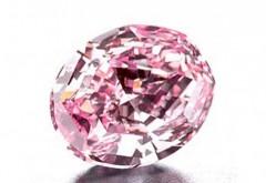 Cel mai mare si mai frumos diamant roz din istorie a fost scos la licitatie. Pretul astronomic cerut pentru nestemata
