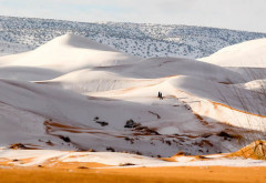 A nins în deșertul Sahara, pentru al treilea an la rând