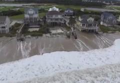 Furtuna FLORENCE face primele victime: Cel puțin cinci persoane, inclusiv o mamă și copilul ei, au murit