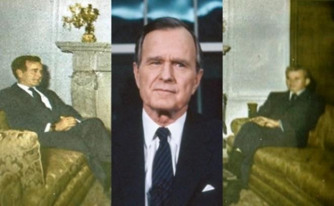 Stenograma discuției Ceaușescu - Bush. Ce discurs profesionist avea dictatorul in fata presedintelui Americii