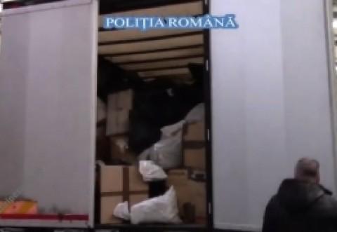 ULUITOR! Poliţiștii de la IGPR s-au filmat când distrug 600 de milioane de euro - VIDEO