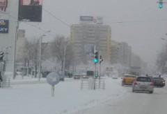 A revenit ninsoarea în România. Drumarii au intervenit de urgență